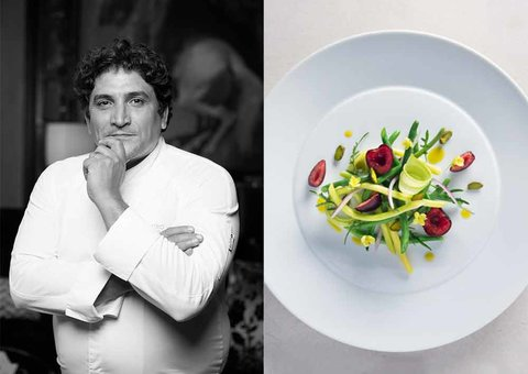 Chef Mauro Colagreco: 'Michelin forces you to up your game'
