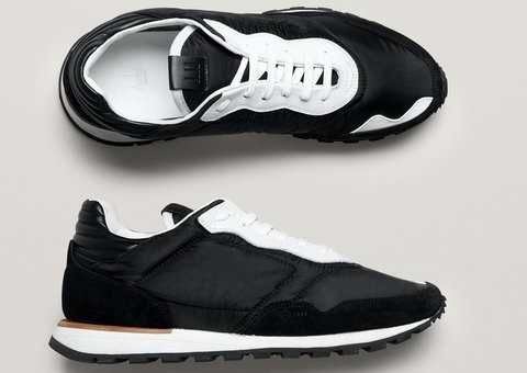 Dunhill launches new '70s inspired running shoe