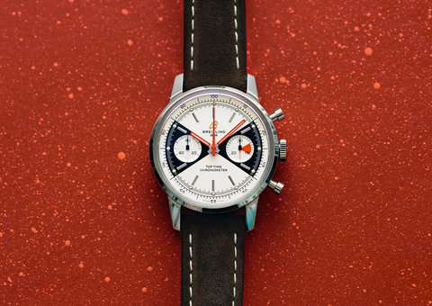 Vintage by name: Breitling Top Time Limited Edition