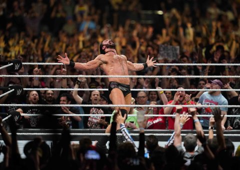 Wrestler Drew McIntyre on why the WWE is an important form of escapism
