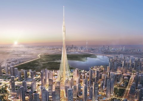 Emaar denies claim that work halted on what will be the World's tallest building in Dubai