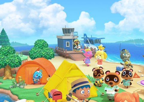 Animal Crossing: New Horizons is a happy place to self-isolate in