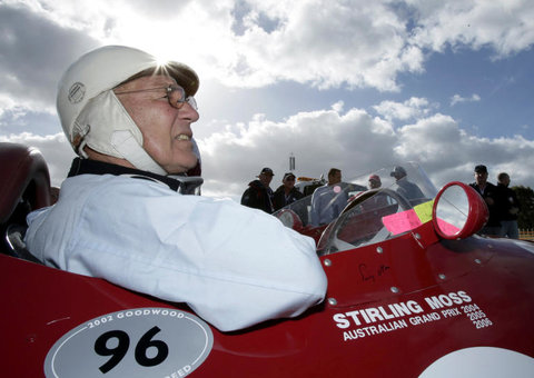 F1 legend Sir Stirling Moss has died aged 90