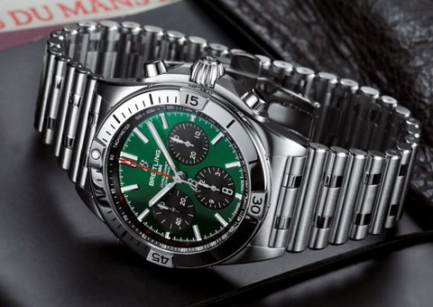 Breitling's newly relaunched Chronomat collection is magnificent