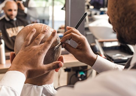The Dubai barbershop that ensures that chivalry is not dead