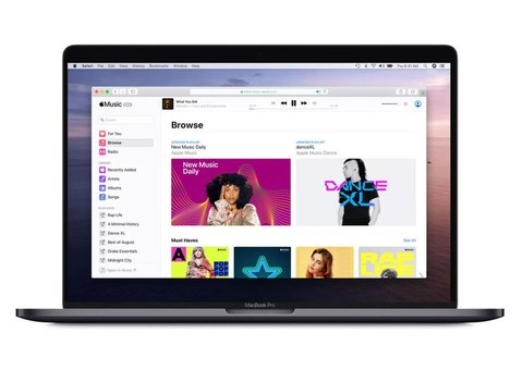 Apple Music now available via web browser