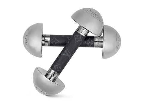 Louis Vuitton's new $2,700 dumbbells are perfect for your home workout