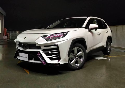 Turn your Toyota RAV4 into a Lamborghini Urus with this body kit