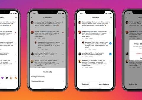You can now bulk delete Instagram comments