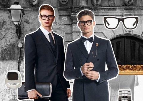 BIG MOOD (board). Say dolce vita to new season tailoring from Dolce & Gabbana