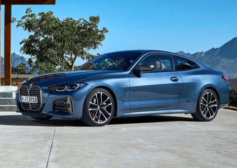 New BMW 4-series coupe has a gaping front grille