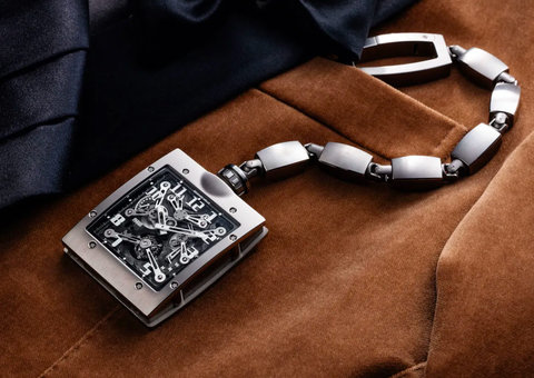 Richard Mille re-thinks the pocket watch with new RM 020