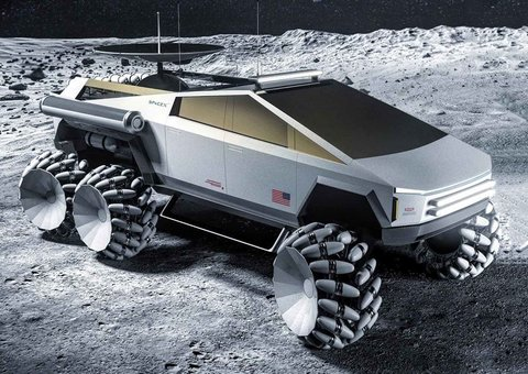 NASA x Tesla Cybertruck concept looks mean as hell