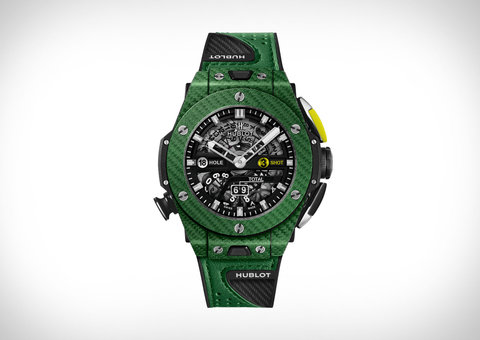 Introducing the Hublot Big Bang Unico Golf Green Carbon