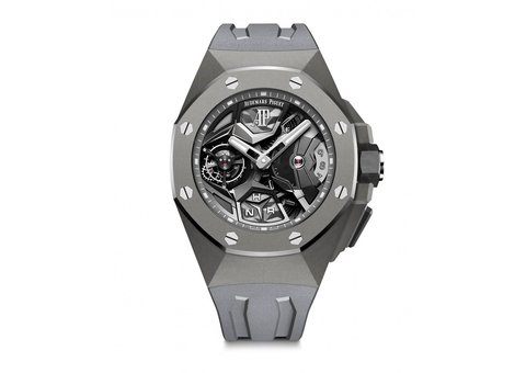 Introducing the Royal Oak Audemars Piguet Concept Flying Tourbillon GMT