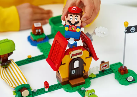 Super Mario is now available in Lego form
