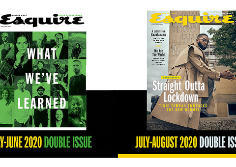 Self-isolating? Get a digital copy of Esquire Middle East for free
