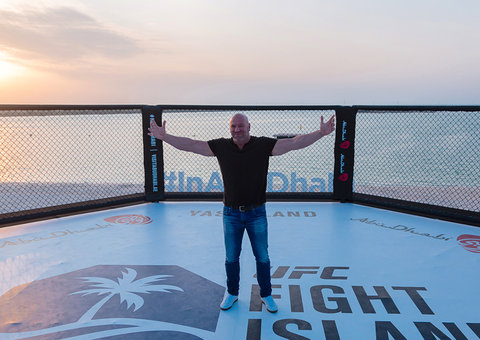 """Dana White: Abu Dhabi could become """"Fight Capital of the World"""""""
