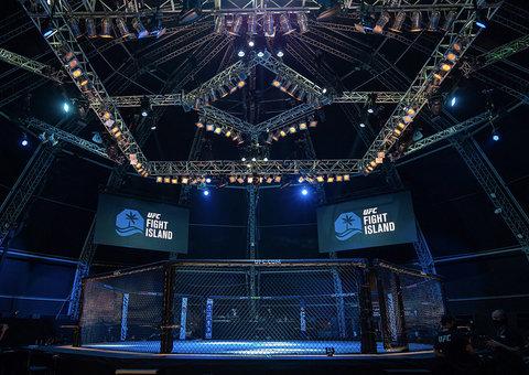 Inside Abu Dhabi's Fight Island with UFC's Walt Harris