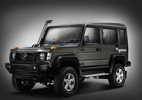 Want a cheap G-Wagon? India's Force Motors version costs US$17,000