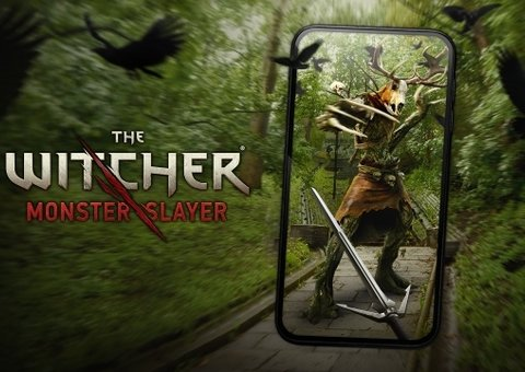 The Witcher is getting an augmented reality app