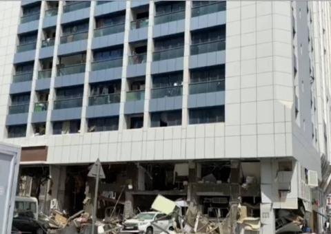 An explosion has rocked a restaurant in Abu Dhabi