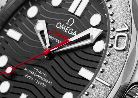 Omega's collab with Nekton makes for the perfect Seamaster