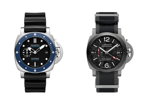 Panerai unveils new Submersible and Luminor models