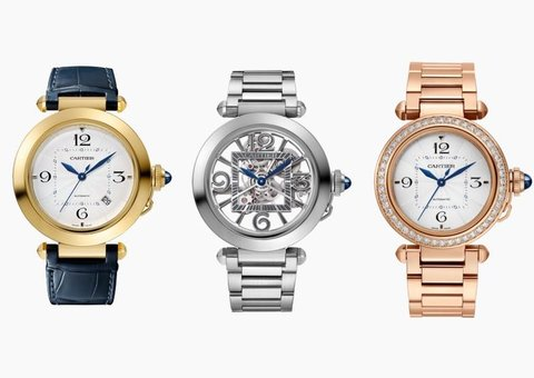 New Pasha de Cartier range puts 80's glam on your wrist