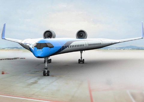 Future of air transport? The Flying-V just passed a huge milestone