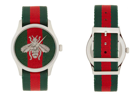 Gucci goes minimal with G-Timeless Web Bee watch