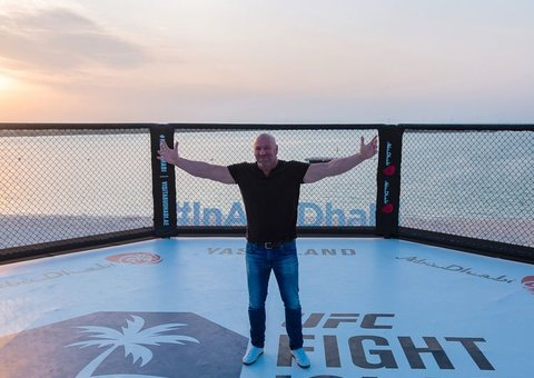 Abu Dhabi will be the home of UFC says Dana White