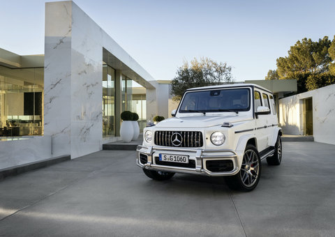 Watch Virgil Abloh's Mercedes-Benz G-class launch live on YouTube
