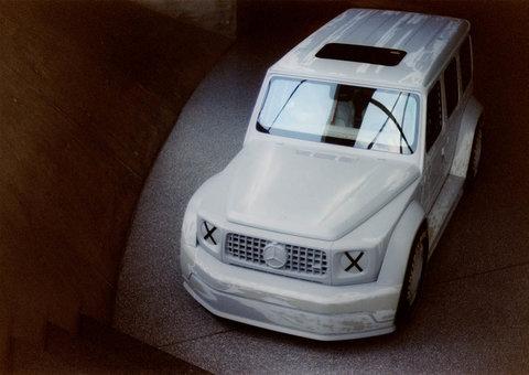 Virgil Abloh's Mercedes G-Class is a hot mess of a car