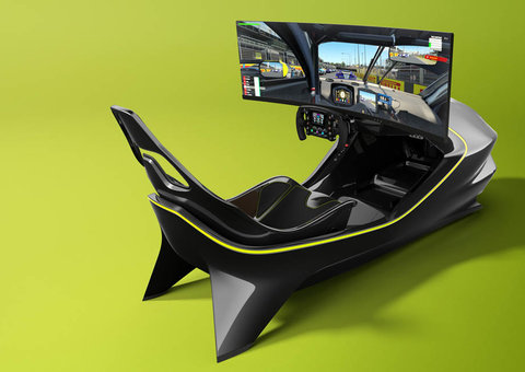 Aston Martin has built the daddy of all racing sims