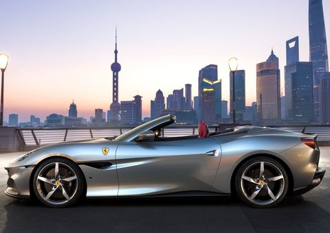 Ferrari's Portofino 'M' is its new 'entry-level' sports tourer