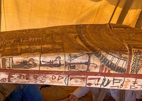 More ancient coffins found in Egypt; sealed for 2,500 years