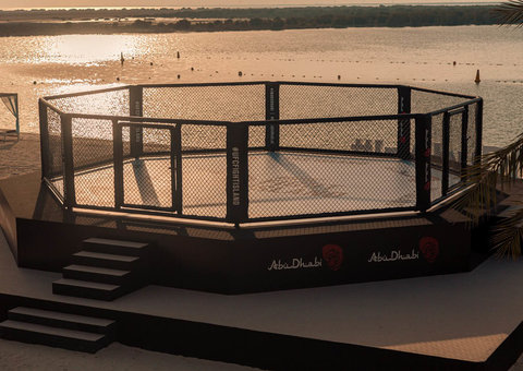 In pictures: Abu Dhabi Fight Island ready for UFC 253