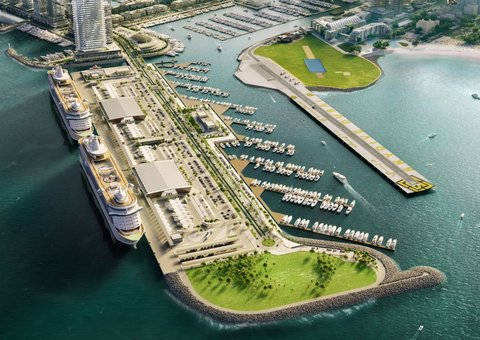 Dubai's Harbour Marina welcomes first yachts