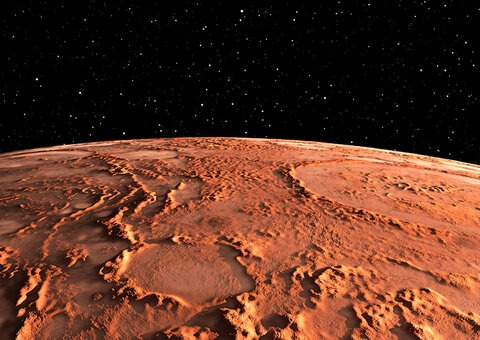 Mars is awfully close to the Earth this month