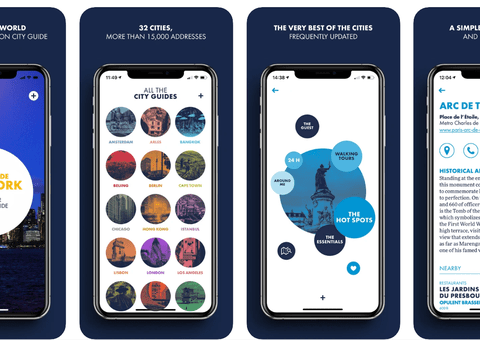 Louis Vuitton City Guides are now on Apple Maps