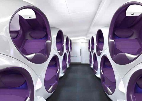 The future of business class looks… fantastic