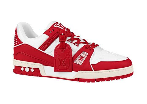 Louis Vuitton (RED) sneakers help raise money for AIDS fund