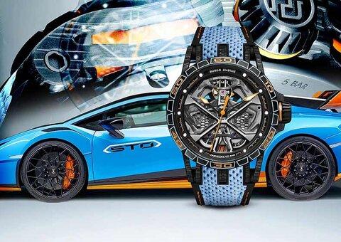 Lamborghini and Roger Dubuis create new Huracan-inspired Excalibur