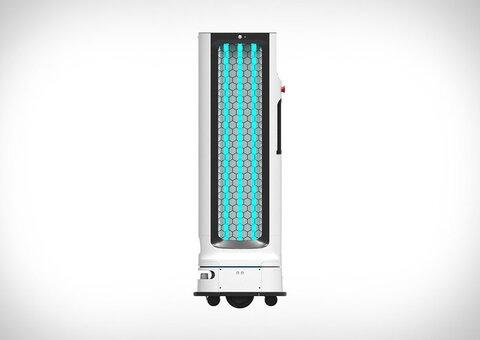 Check out LG's autonomous disinfecting robot