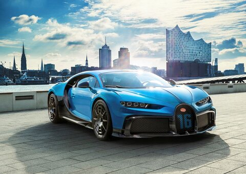 The Chiron Pur Sport is Bugatti's 'slowest' ever hyper car