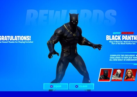 Fortnite reveals Black Panther skin with tribute to Chadwick Boseman