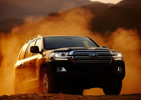 Yup, the Toyota Land Cruiser is the best-selling car in the GCC