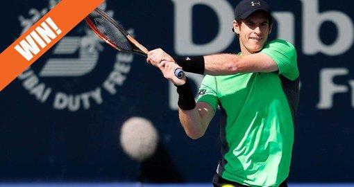WIN! Tickets to the Dubai Duty Free Tennis Championships