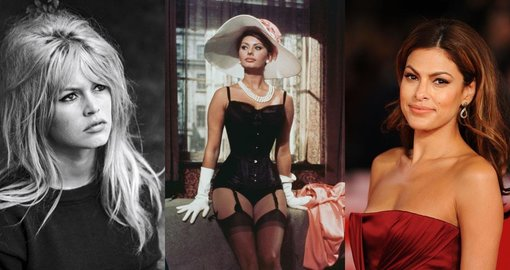 25 of the most beautiful women of all time